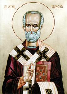 ikona Svetog oca Nikole rad prote Jovana