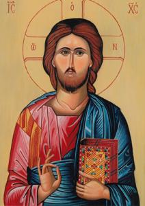 Ikona Spasitelja rade prote Jovana