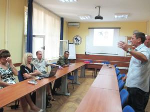 Gosti iz Beograda i Stojan Bogosavljev