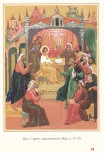 Isus u hramu